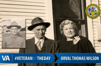 Orval Thomas Wilson - Veteran of the Day