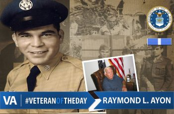 Raymond L. Ayon - Veteran of the Day