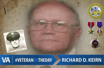 Richard Keirn - Veteran of the Day