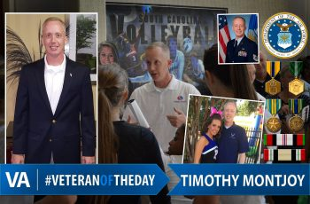 Timothy Montjoy - Veteran of the Day