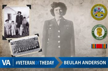 Veteran of the Day Beulah Anderson