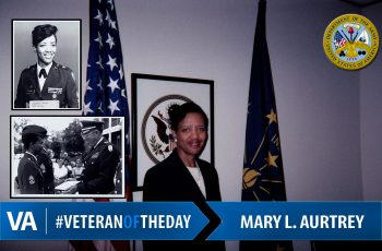 Veteran Of The Day Mary L. Aurtrey