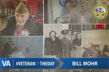 Bill Mohr Veteran of the Day