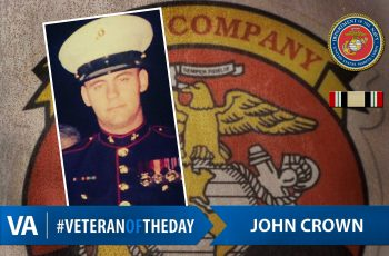 Veteran of the Day John Crown