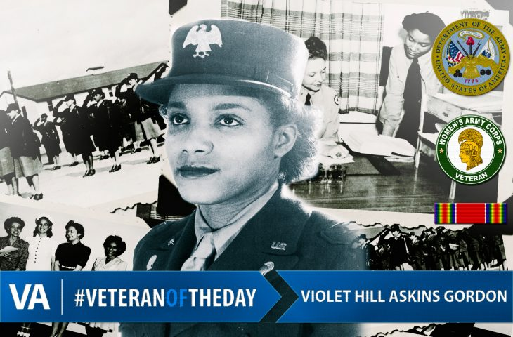 Veteran of the Day Violet Gordon