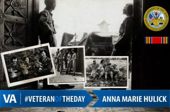 Anna Marie Hulick - Veteran of the Day