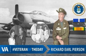 Veteran of the Day Richard Earl Pierson
