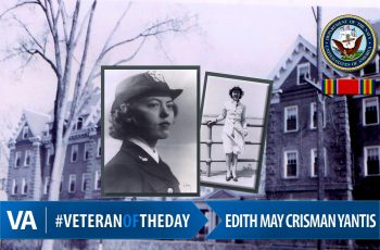 #VeteranOfTheDay Edith May Crisman Yantis