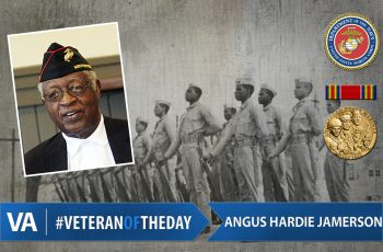 Angus Hardie Jamerson - Veteran of the Day