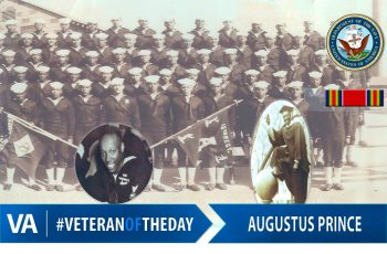 Augustus Prince - Veteran of the Day