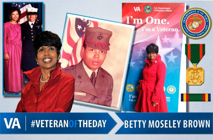 Betty Moseley Brown - Veteran of the Day