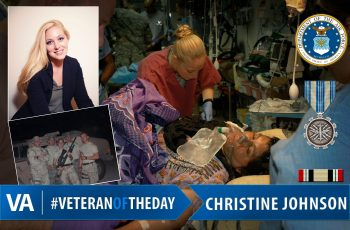 Christine Johnson - Veteran of the Day