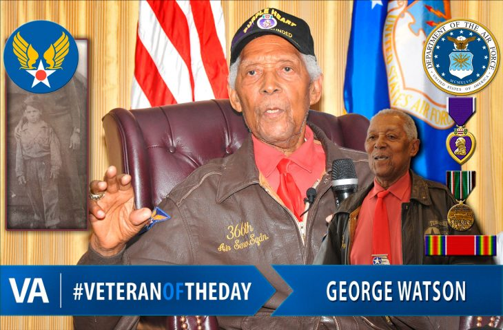 #VeteranOfTheDay Air Force Veteran George Watson