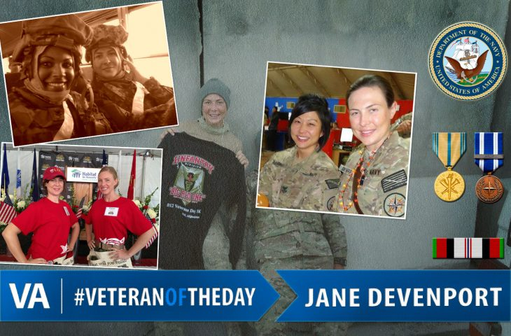 #VeteranOfTheDay Navy Veteran Jane Devenport
