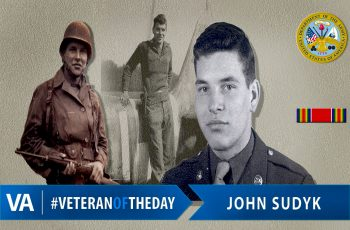 John Sudyk - Veteran of the Day