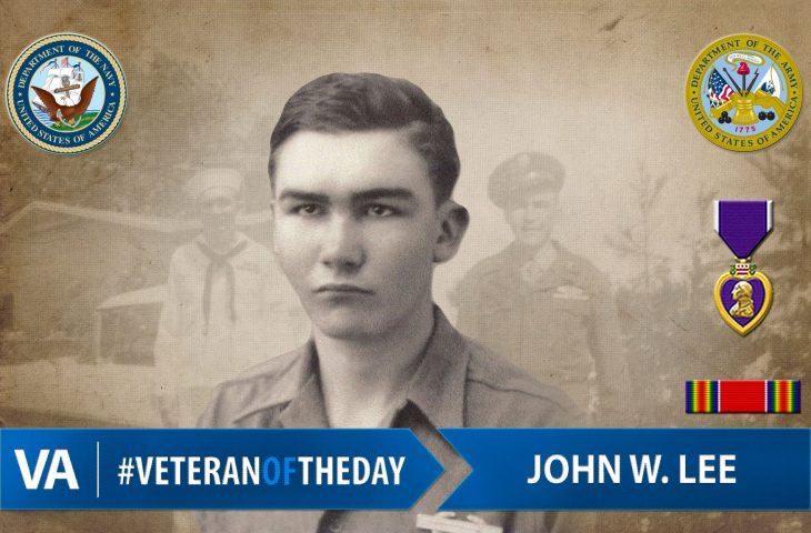 #VeteranOfTheDay is Army Veteran John W. Lee