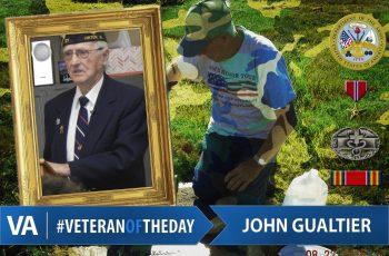 John Gualtier - Veteran of the Day