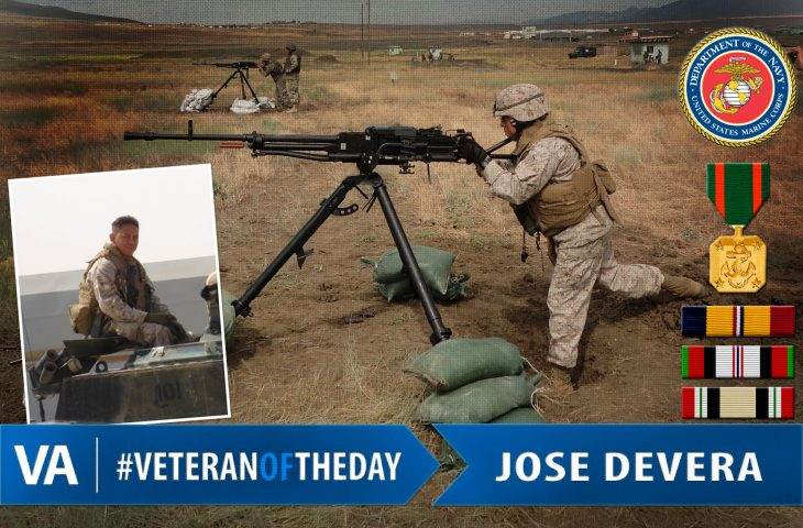 #VeteranOfTheDay Marine Corps Veteran Jose Devera