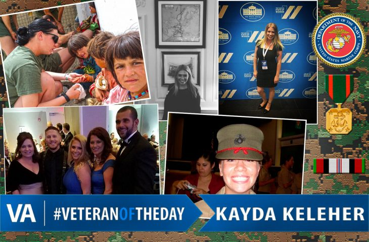 Kayda Keleher - Veteran of the Day