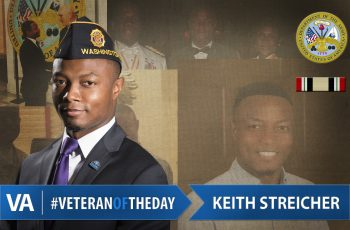 Veteran of the Day Keith Streicher