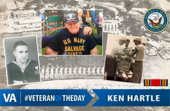 Ken Hartle - Veteran of the Day