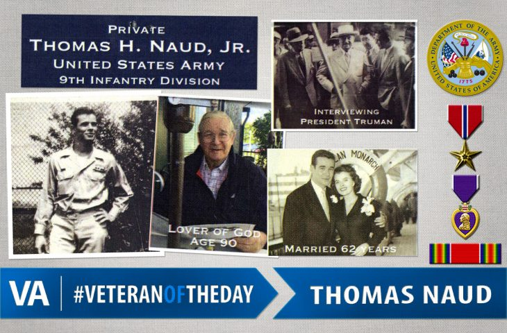 #VeteranOfTheDay Army Veteran Thomas Naud