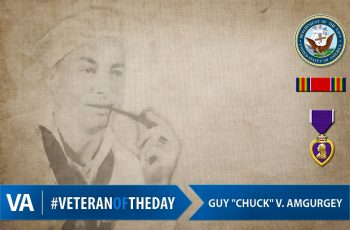 Veteran of the Day Guy V. Amgurgey