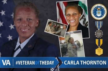 Carla Thornton - Veteran of the Day
