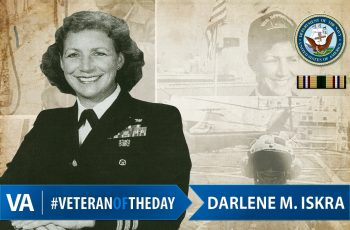 Veteran of the Day Darlene Iskra