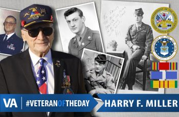 Veteran of the Day Harry F. Miller