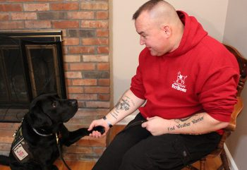 Veteran Anthony Mazzone first met his service dog