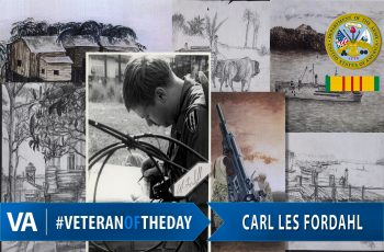 Carl Les Fordahl - Veteran of the Day