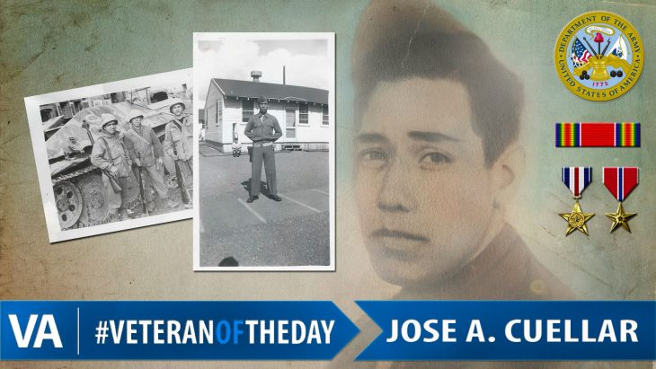 Jose Cuellar - Veteran of the Day