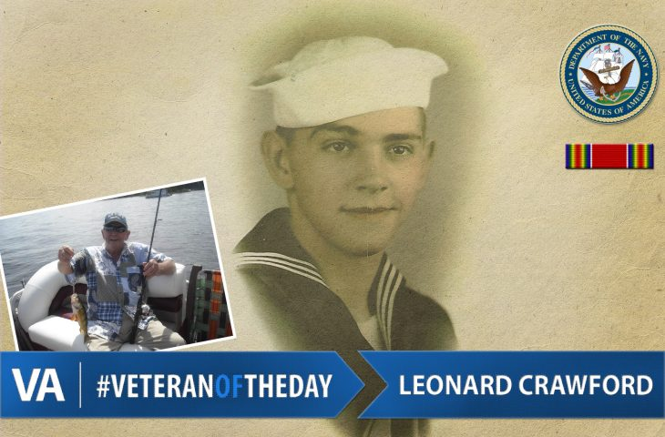 #VeteranOfTheDay Navy Veteran Leonard L. Crawford