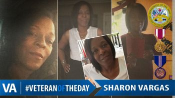 Sharon Vargas - Veteran of the Day