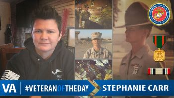 Stephanie Carr - Veteran of the Day