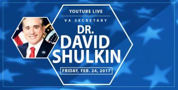 YouTube Live with Dr. David Shulkin