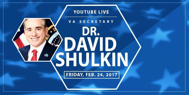 Watch VA's YouTube Live Q&A with Secretary Shulkin