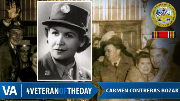 Veteran of the Day Carmen Contreras Bozak