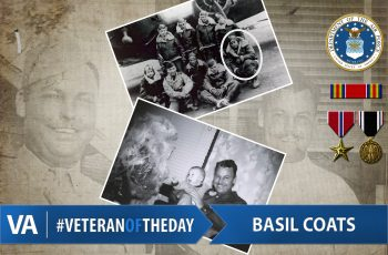 Veteran of the Day Basil Coats