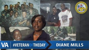 Veteran of the Day Diane Mills