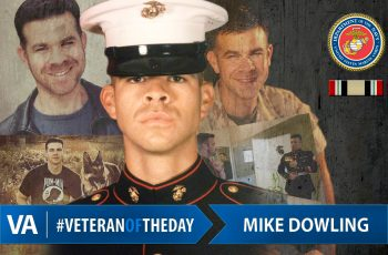 Veteran of the Day Mike Dowling