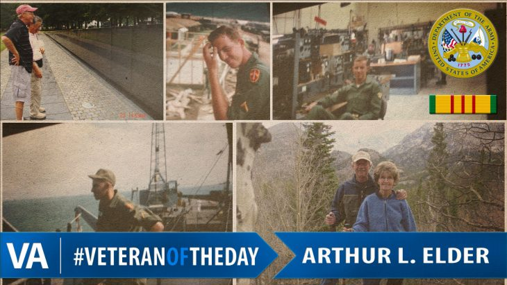 Veteran of the Day Arthur Elder