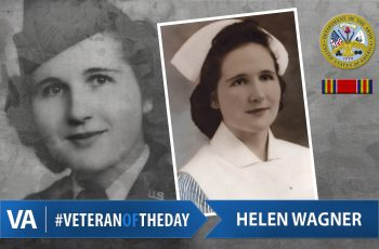 Helen Wagner - Veteran of the Day