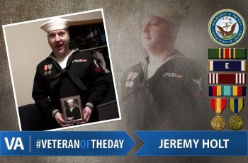 Jeremy Holt - Veteran of the Day