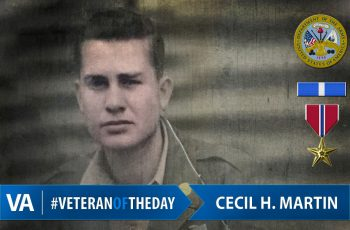 Cecil H. Martin - Veteran of the Day
