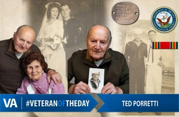 Veteran of the Day Ted Porretti