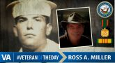 #VeteranOfTheDay Navy Veteran Ross A. Miller