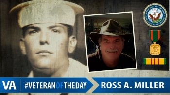 Ross A Miller - Veteran of the Day