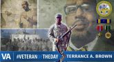 Terrance Brown - Veteran of the Day